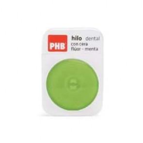 Hilo dental con cera PHB Flúor-Menta