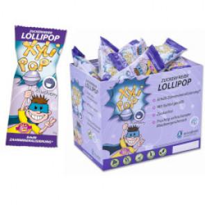 Caramelos de palo con Xilitol XyliPOPS sabor arándanos