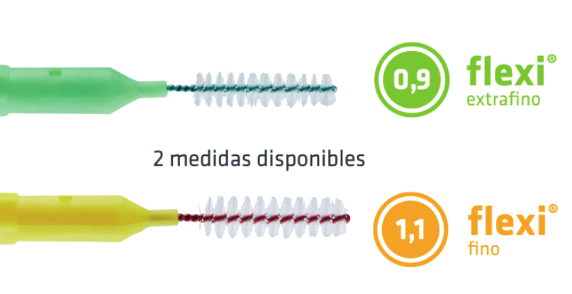 Cepillo interdental y palillo PHB Flexi Medidas