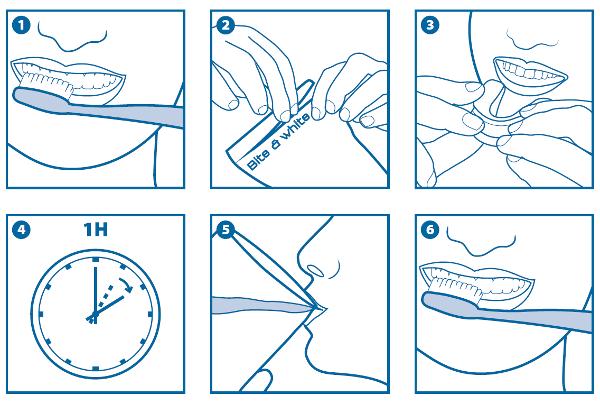 Instruccione de uso de Cavex Bite&White Ready 2 Use
