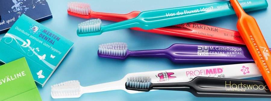 Cepillos de dientes personalizados