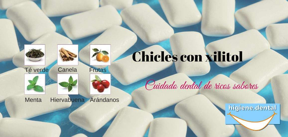Chicles con Xilitol