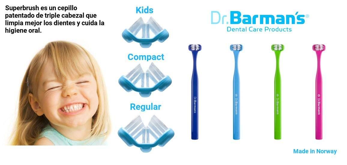 Superbrush, el nuevo concepto de cepillado del Dr. Barman en higiene.dental