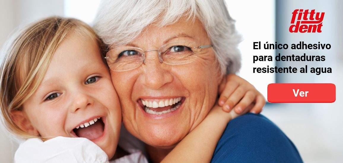 Adhesivos y pastillas limpiadoras de prótesis dentales