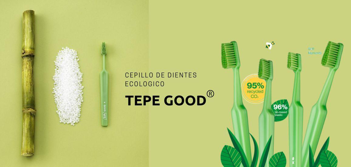 Cepillo de dientes ecológico TePe Good