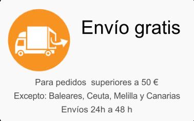 Envío gratis para pedidos superiores a 50 euros